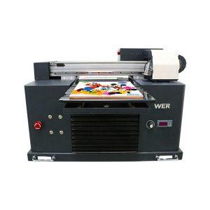 hett försäljning a3 dx5 huvud digital t-shirt uv flatbed printing machine