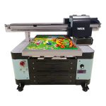 a2 storlek UV flatbed skrivare för metall / telefonväska / glas / penna / mugg