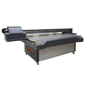 UV-skrivare manufactory akryl trä korn UV tryckmaskin