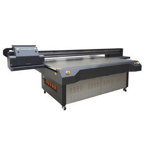 UV-ledd flatbedskrivare för glas / akryl / keramisk tryckmaskin