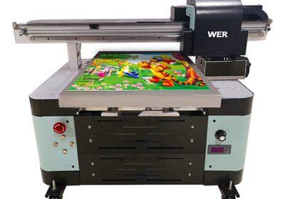 oversea stödja digital maskin a2 uv flatbed skrivare
