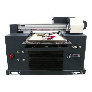 DTG skrivare direkt till plagg uv flatbed skrivare t-shirt utskrift maskin