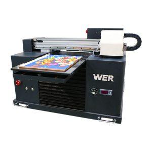 a3 uv-skrivare, avancerad liten storlek automatisk UV flatbed skrivare