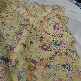 Digitalt textiltrycksprov 3 av A1 digital textilskrivare WER-EP6090T