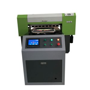 Bästsäljande T-shirt Textil Flatbed Skrivare Akryl Garment Skrivare Flatbed Printing Machine