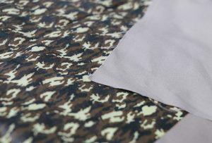 Textilprov 1 av digital textilmaskin WER-EP7880T